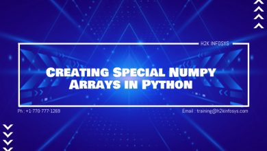 Photo of Creating Special Numpy Arrays in Python