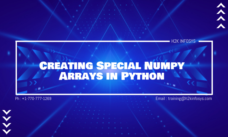 Creating Special Numpy Arrays in Python
