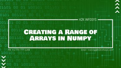 Photo of Creating a Range of Numbers as an Array in Numpy