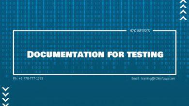Photo of Documentation for testing