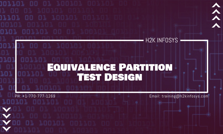 Equivalence Partition Test Design
