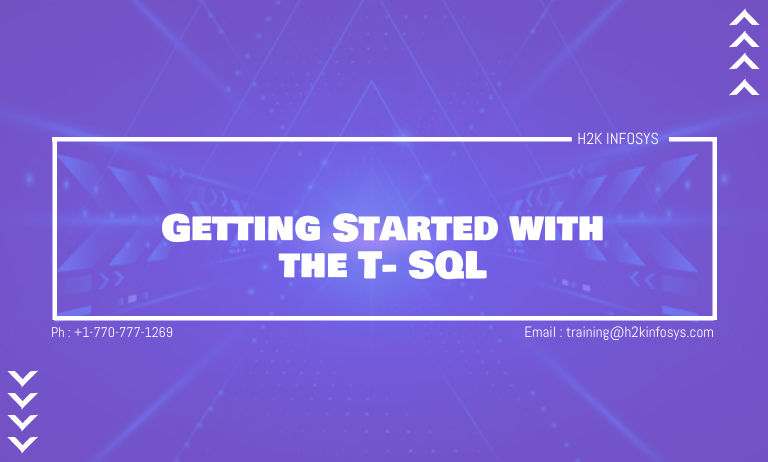 Getting Started with the T-SQL