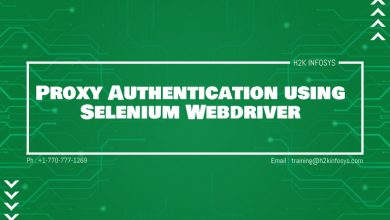 Photo of Proxy Authentication using Selenium Webdriver