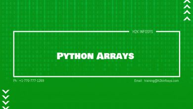 Photo of Python Arrays