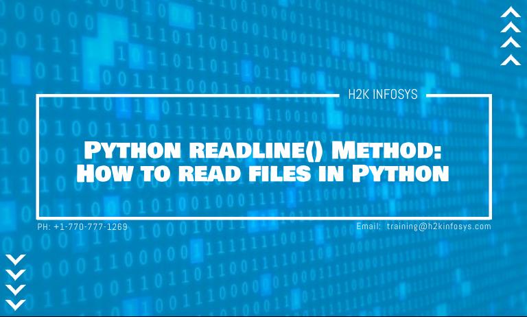 Python readline Method