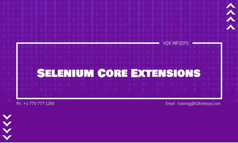 Selenium Core Extensions