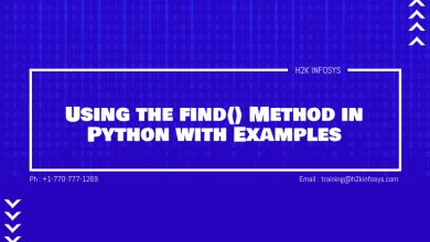 Photo of Using the find() Method in Python with Examples