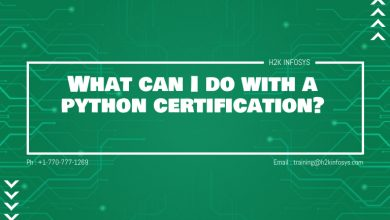 Photo of What can I do with a python certification?