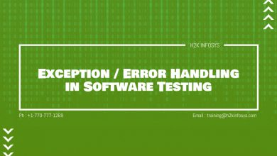 Photo of Exception / Error Handling in Software Testing