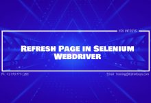 Photo of Refresh Page in Selenium Webdriver
