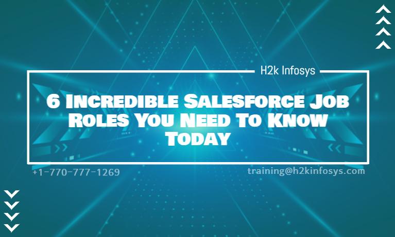 Salesforce Job Roles