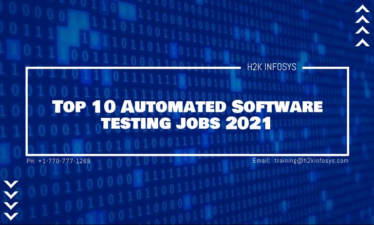 Software testing jobs