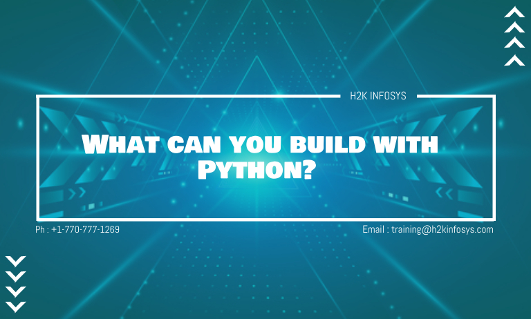What can you build with Python?