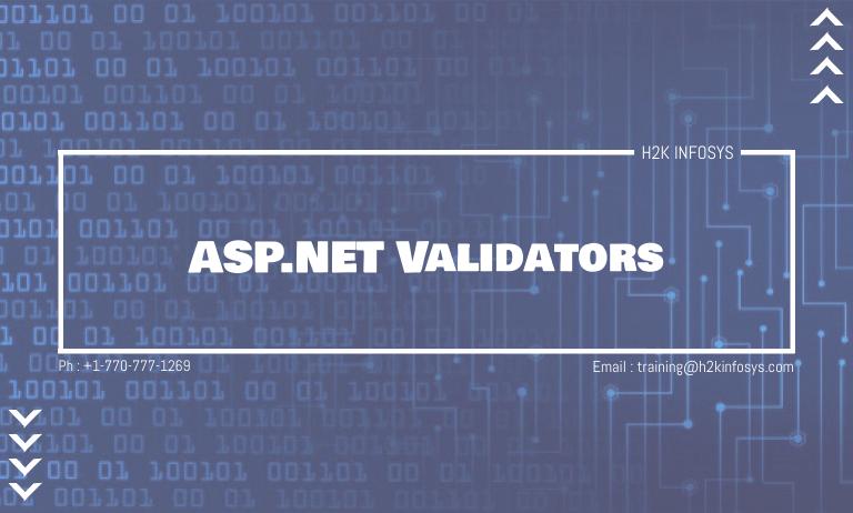 ASPNET Validators