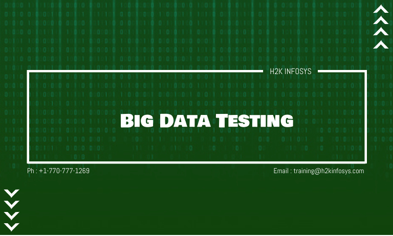 Big Data Testing