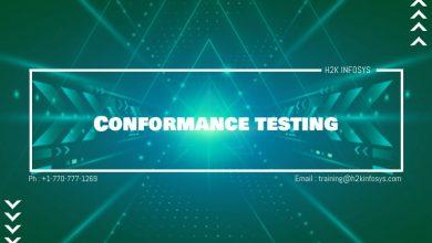 Photo of Conformance testing