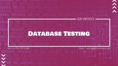 Photo of Database Testing