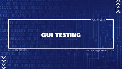 Photo of GUI Testing