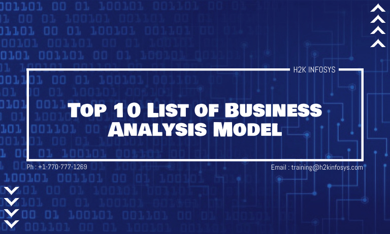 Top 10 List of Business Analysis Model