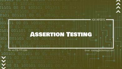 Photo of Assertion Testing