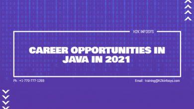 Photo of Career Opportunities In Java In 2021
