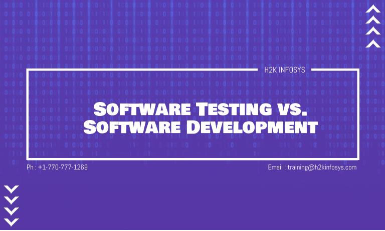 Software Testing vs Software Development