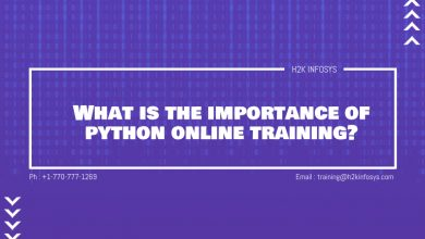 Photo of What is the importance of python online training?