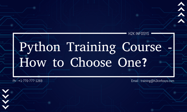 Python Training Course - How to Choose One?