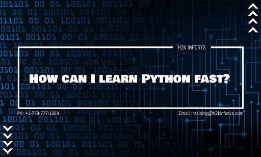 How can I learn Python fast?