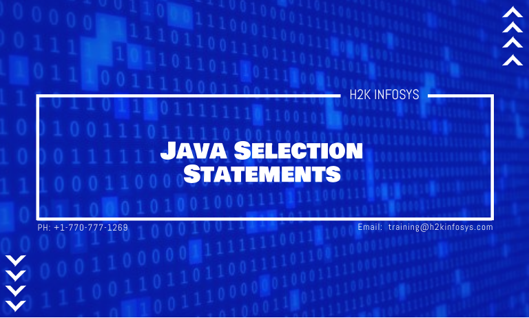 Java Selection Statements