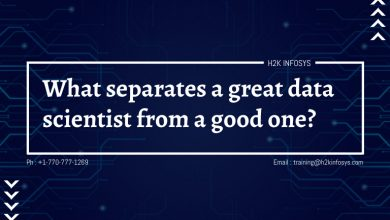Photo of What separates a great data scientist from a good one?