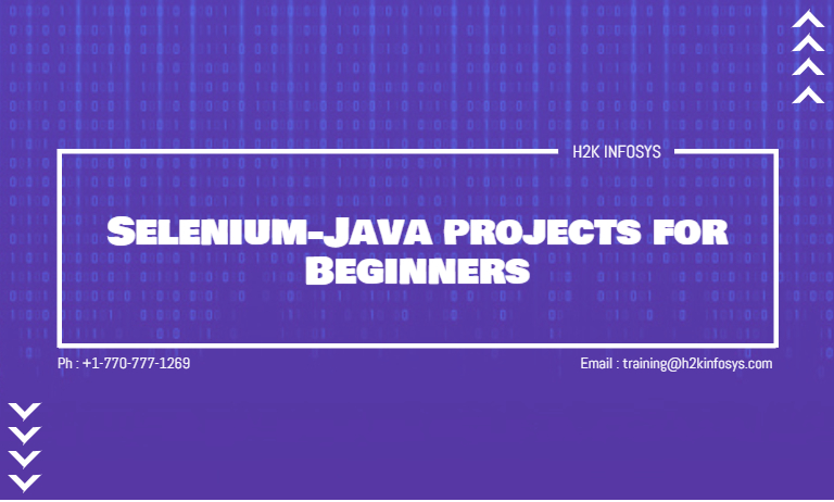 Selenium-Java projects for Beginners