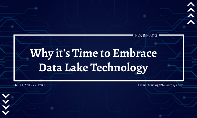 Why it's Time to Embrace Data Lake Technology