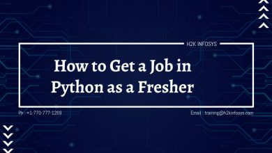 Photo of How to Get a Job in Python as a Fresher