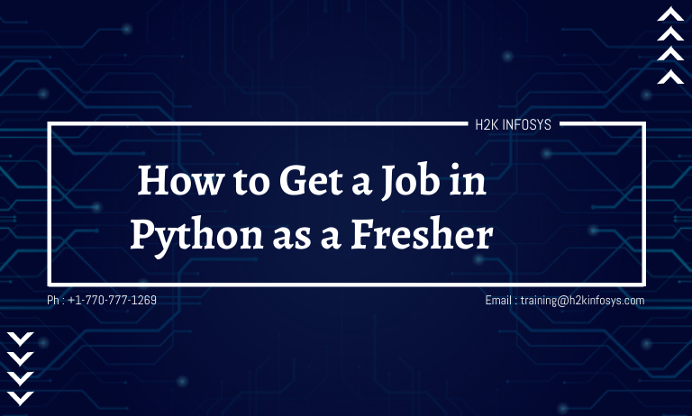 How to Get a Job in Python as a Fresher