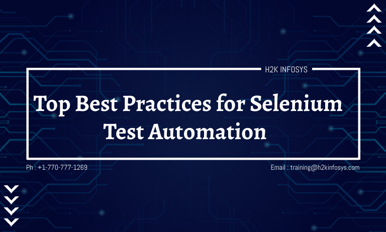 Top Best Practices for Selenium Test Automation